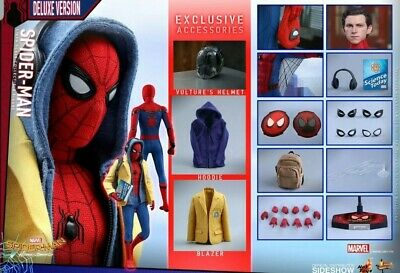 Hot Toys Spider-Man Homecoming Tech Suit Deluxe 1:6 Scale Figure Avengers
