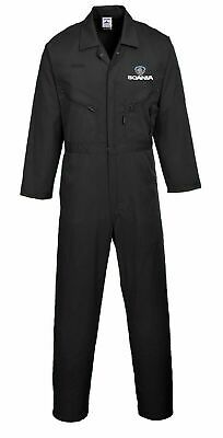 Scania custom embroidered Boiler suit / Overall / Coverall Portwest heavy duty