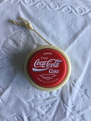 Vintage Super Enjoy Coca Cola Coke Russell Yo-yo Phillipines