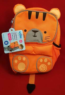 Trunki ToddlePak BackPack TIPU Orange Reflective Animal Toddler Nursery