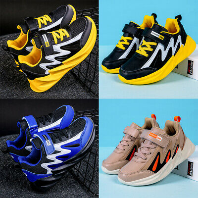 Boys Girls Fashion Sport Athletic Running Shoes School Gym Trainers Sneaker Size