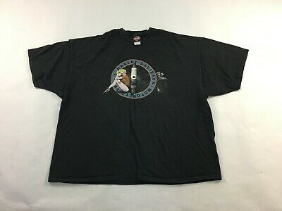 "Harley-Davidson Men/'s black  XL Shirt /""spark plug Hunter/"" duo glide"
