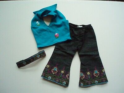 """18"""" Inch Doll 3 Piece Outfit Fits Our Generation / American Girl ~ GUC"""