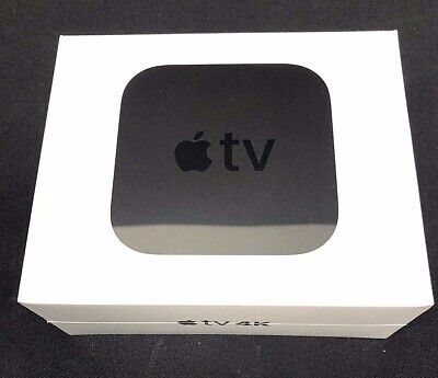 Apple TV (5th Gen) 4K HD Media Streamer A1842 (MP7P2LL/A) - Black NEW SEALED