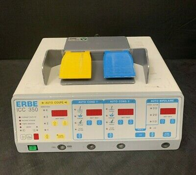 Erbe Icc350 Unit + Footswitch (230 Volts) *Biomed Tested*