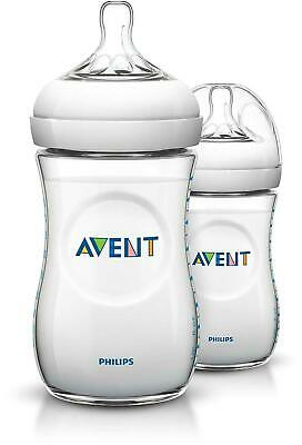 Philips Avent Natural Baby Bottles 9 Oz (Pack Of 2)