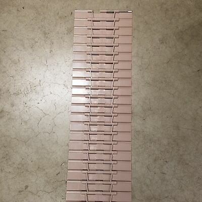 """Rexnord 81414102 821 Series Straight Running TableTop Chain, 10"""" Wide - USED"""