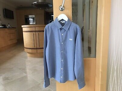 Boss Boys Shirt Age 14 Years Slim Fit - Excellent Condition