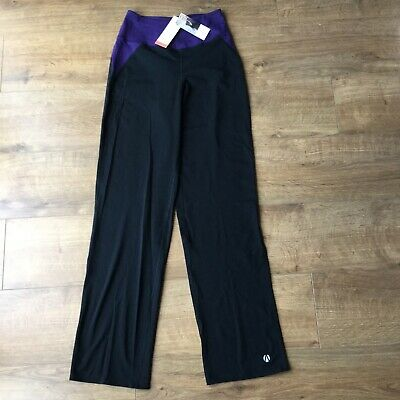 BNWT M&S Ladies Active Wear Sports Gym Trousers - Size UK 8 - RRP £16