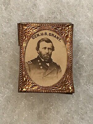 1868 US Grant Campaign Gem Shell
