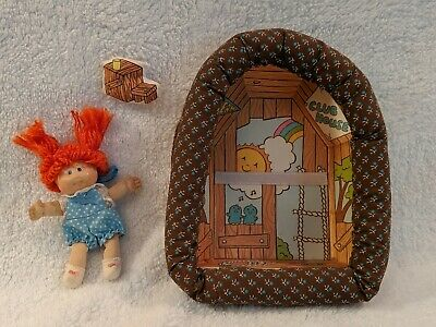 Vintage Cabbage Patch Pin-Ups, Charlene Jenny & Her Clubhouse,1983 Coleco doll