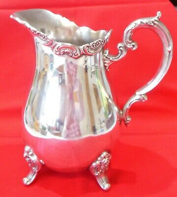 Vintage Silverplate Hollowware Water Pitcher Towle El Grandee No Side Design