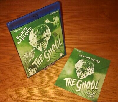 THE GHOUL Blu-ray UK version region b free P&P (w/ rare OOP collectors booklet)