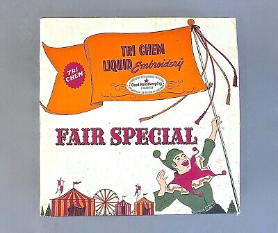 Tri Chem Liquid Embroidery in Tin Fair Special NEW OPENED