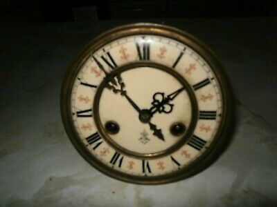Vintage Vienna Clock Movement  (Spares Or Repair)