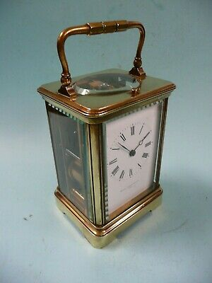 19th century 8 Day Repeating French Carriage Clock....................ref.1978