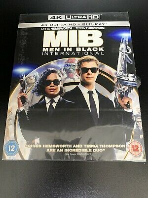 MIB: Men In Black International - 4K UHD Ultra HD  Blu-ray - Brand New & Sealed