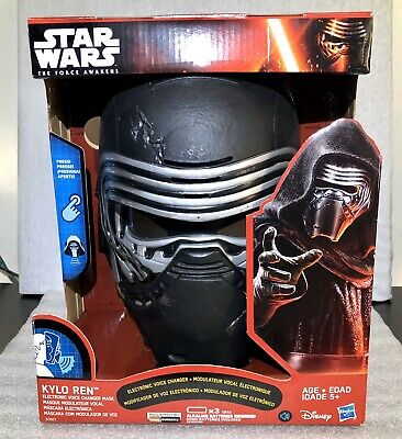 STAR WARS: The Force Awakens Hasbro Kylo Ren Electronic Voice Changer Mask