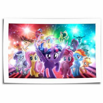 """16""""x24""""My Little Pony  HD Canvas print Painting Home decor Picture Room Wall art"""