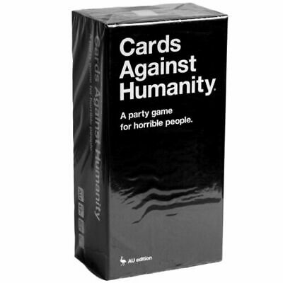 Cards Against Humanity Set Card Game Factory Sealed - Australian Edition V2.0