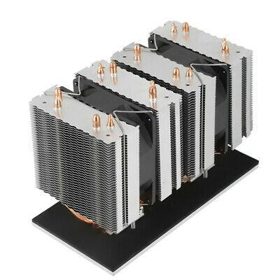 Semiconductor Refrigeration Thermoelectric Peltier Air Cooling Dehumidification