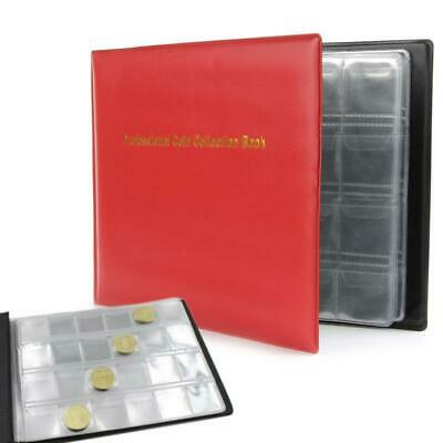 240Coin Collection Storage Penny Pockets Money Album Book Collecting Coin Holder