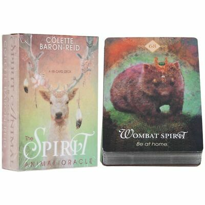 The Spirit Animal Oracle: A 68-Card Deck by Colette Baron-Reid Fre