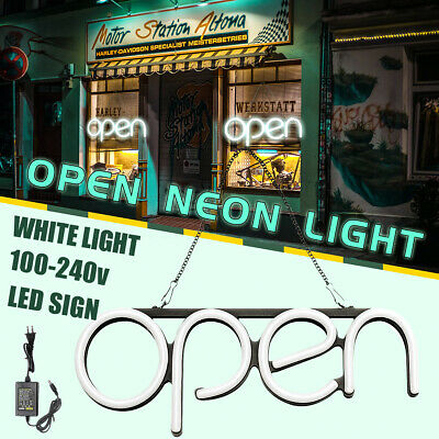 OPEN Neon Sign Light Beer Pub Club Party Business Lamp Shop Home Room Wall Decor