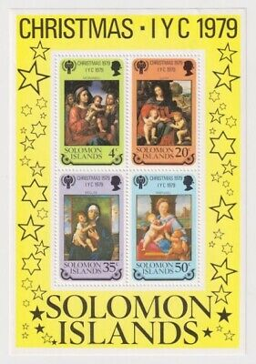 "Solomon Is - International Year of the Child - ""Madonna and Child"" 1979 - MNH"