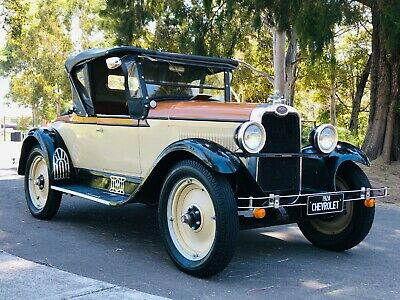 1928 Chevrolet Roadster convertible coupe RARE rear seat# ford Buick holden chev