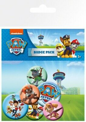 Paw Patrol - Mix Badge Pack (6x4in) #91311