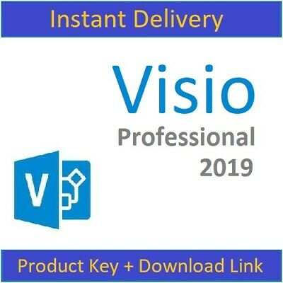 Visio 2019 Product Key 32/64 Bit Pro Professional License Code & Download Link