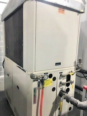 2000 15 ton AEC Sterlco Air Cooled Chiller, 460v run tested & guaranteed by KIG