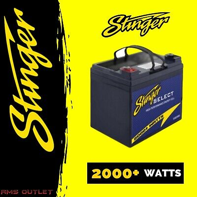 Stinger SSB2000 Select 2000W High Performance Car Audio Battery High Quality