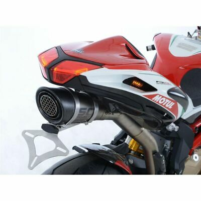 44505913 - Support de plaque R&G RACING noir MV Agusta F4 RC