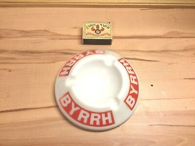 Ancien Cendrier Byrrh Made In France Magnier Blangy Ashtray Vintage Retro Deco
