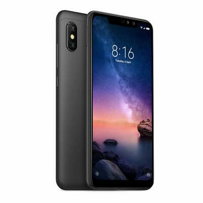 "New Xiaomi Redmi Note 6 Pro (FACTORY UNLOCKED) 6.26"" 64GB 3GB RAM Black Sealed"