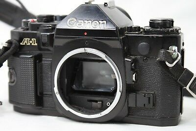 Canon A-1 35mm SLR Film Camera Body Only **Working** #H016e