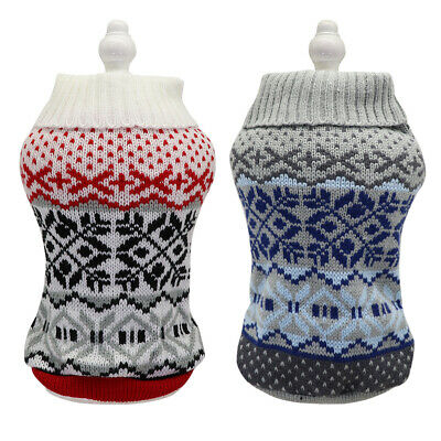 Cheap Christmas Dog Sweater Pet Knitwear Puppy Sweaters Apparel Holiday Gift