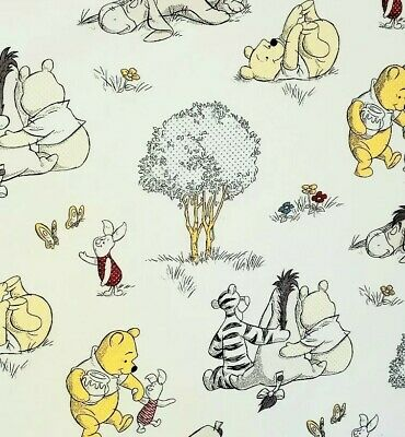 Winnie The Pooh Crib Or Toddler Bed Fitted Sheet