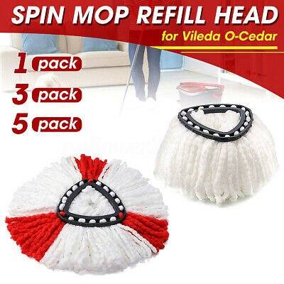 Microfiber Spin Mop Refill Replacement Head for Vileda O-Cedar EasyWring Mop