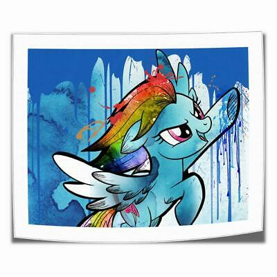 """16""""x22""""My Little Pony HD Canvas print picture Home decor Picture Room Wall art"""