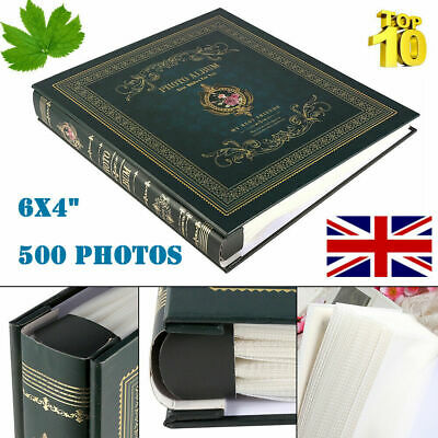 Large Memo Slip In Photo Album 6x4 Memories Organiser Durable Book 500 Photo UK