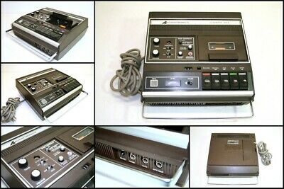AUDIOTRONICS Cassette 152S Synchronized Tape Recorder Player Made in Japan