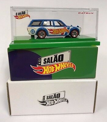 2017 Hot Wheels Brazil Convention /'71 Datsun Bluebird 510 Wagon 1 of only 3,000