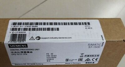 1PC New In Box SIEMENS 6ES7 511-1FK02-0AB0 Central Processing Unit
