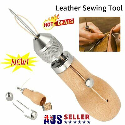 Speedy Stitcher Sewing Awl Tools Kit for Leather Sail & Canvas Heavy Repair MN