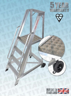 Warehouse Steps - 1.2 m - 3.5 m - TITAN - Very Strong - SALE NOW ON
