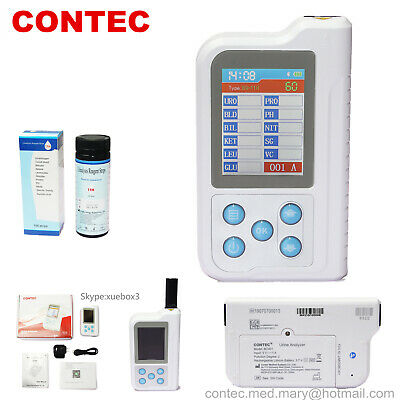 "US Portable Urine Analyzer,test strip,Bluetooth,2.4"" LCD,11 Parameters BC401 NEW"