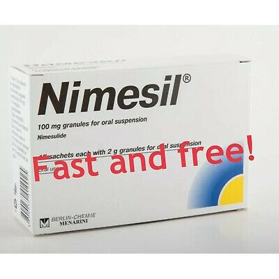 NIMESIL 10 X 2g Sachets Pain relief Toothache Muscle Pain Fast Relief Nimesulid
